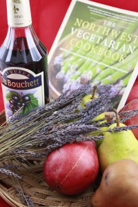 Poached Pears nw vegetarian cookbook
