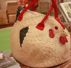 Whimsical Chicken Purse