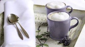 Lavender-Infused Lattes