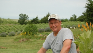 Mike Neustrom of Prairie Lavender Farm