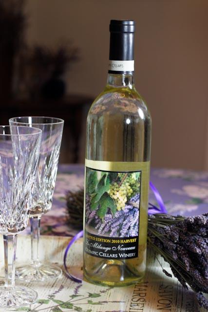 """Le Melange Noveau - """"A New Blend"""" (Lavender infused wine)"""
