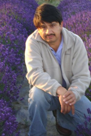 Victor in Lavender Field